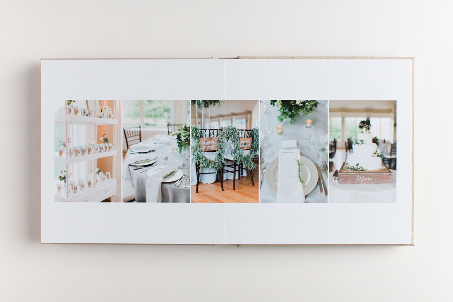 tips for photographing wedding albums