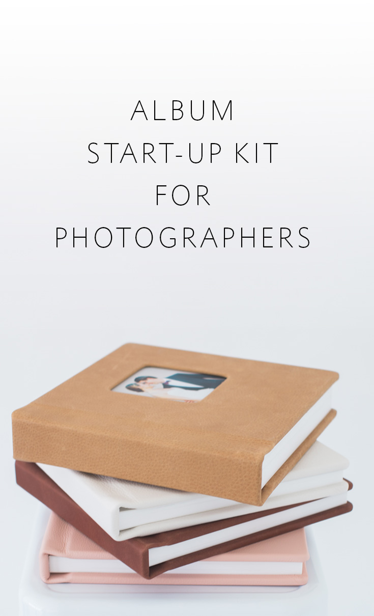 The quickest & easiest way for photographers to begin offering albums!