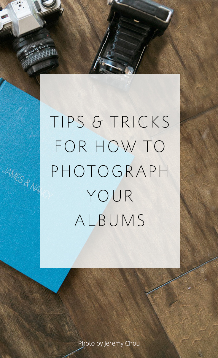 3 Tips on how to photograph wedding albums well