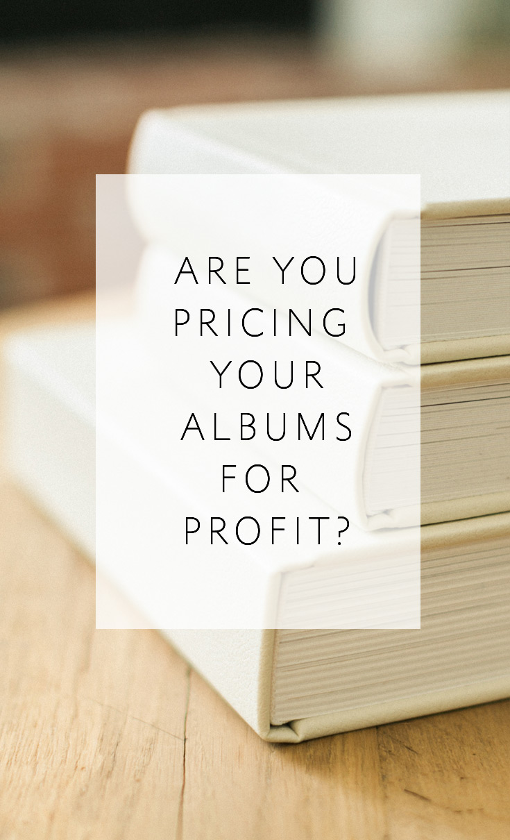 3-Question Quiz to find out if you are pricing your wedding albums for profit