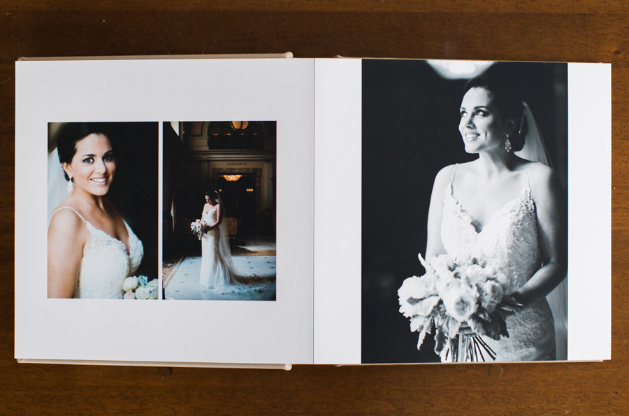 Classic Washington Dc Wedding Album Design By Sarah